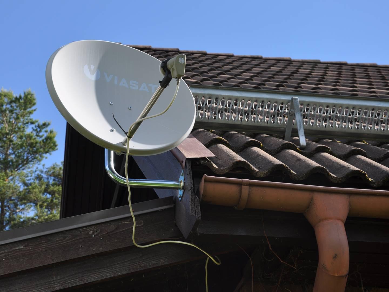 viasat via antenn