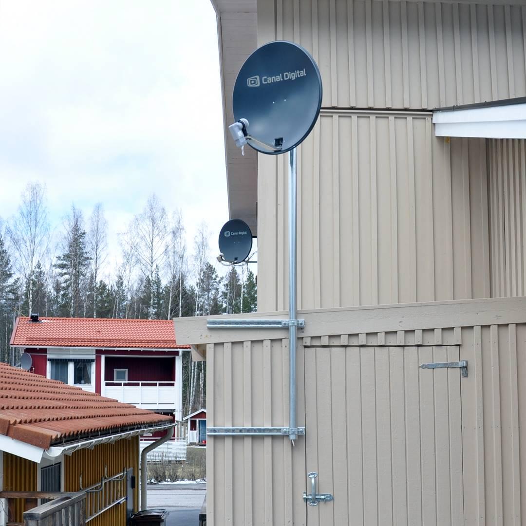 Berömda Antennfästen. - Gestrike antennservice QR-35